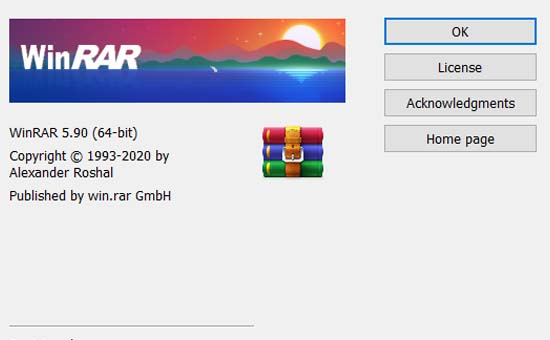 WinRAR 5.90.0.0 32bit and 64bit free download